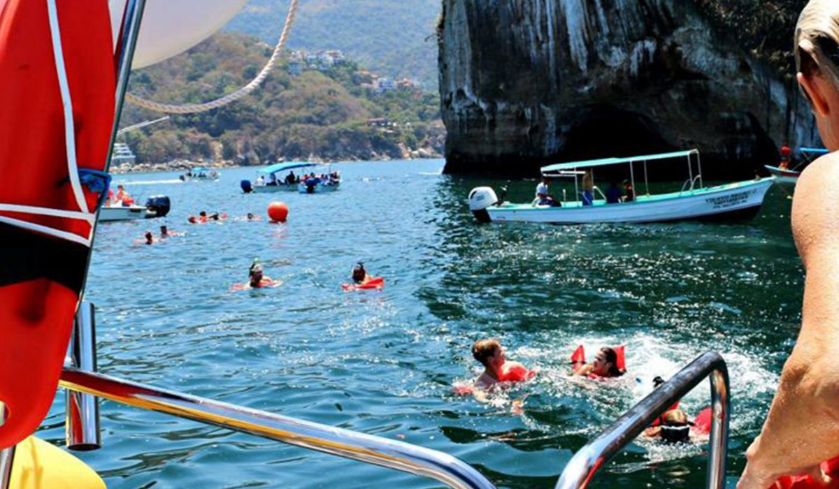 Private and Quick Snorkeling Adventure to Los Arcos National Park ft 3