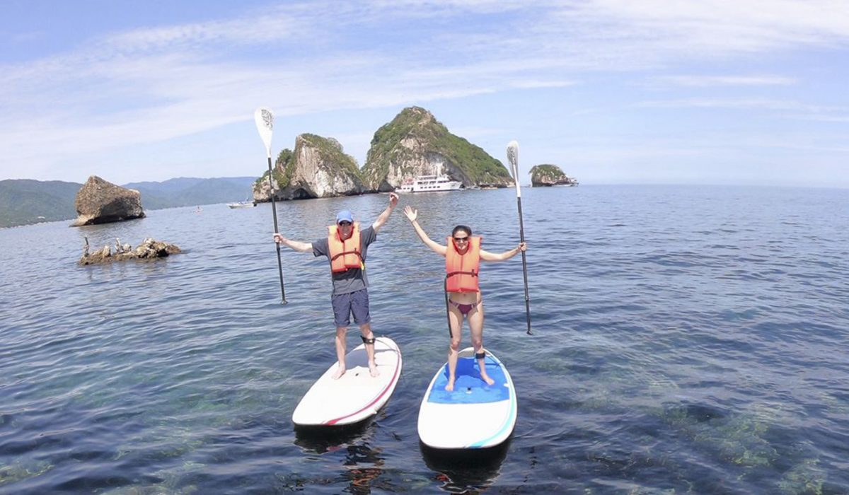 Snorkel & Paddleboard Adventure to Los Arcos National Park Featured